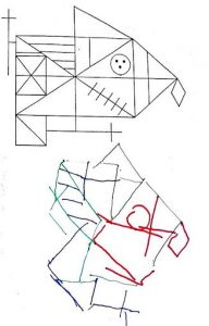 3D Figure That Explain Constructional Disorder