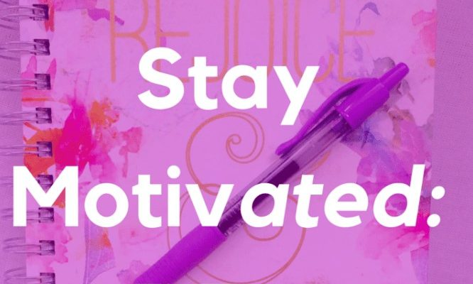 Stay Motivated Banner
