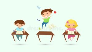 Classroom Picture of ADHD Student